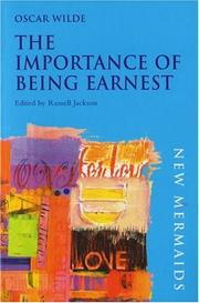 Cover of: The Importance of Being Earnest