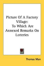 Cover of: Picture Of A Factory Village