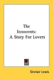 Cover of: The innocents: a story for lovers