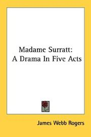 Cover of: Madame Surratt