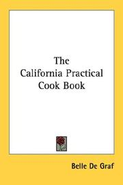 Cover of: The California Practical Cook Book