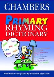 Cover of: Primary Rhyming Dictionary