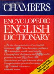 Cover of: Chambers Encyclopedic English Dictionary