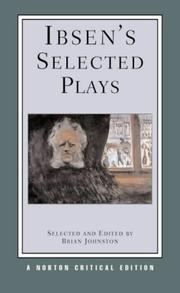 Cover of: Ibsen's Selected Plays