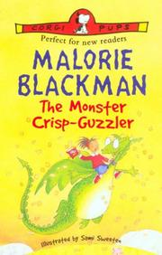Cover of: The Monster Crisp-Guzzler (Corgi Pups) | Malorie Blackman