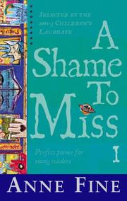 Cover of: A Shame to Miss Poetry