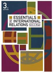Cover of: Essentials of international relations