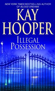 Cover of: Illegal possession