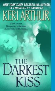 Cover of: The Darkest Kiss (Riley Jensen, Guardian, Book 6)