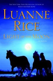 Cover of: Light of the Moon