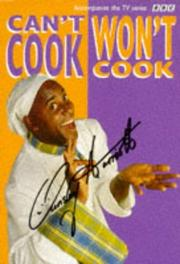 "Cover of: ""Can't Cook, Won't Cook"""