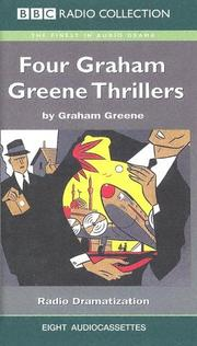 Cover of: Four Graham Greene Thrillers