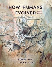 How humans evolved by Boyd, Robert Ph. D.