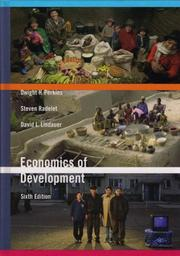 Cover of: Economics of Development, Sixth Edition | Dwight H. Perkins
