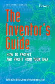 Cover of: Inventors' Guide