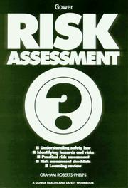 Cover of: Risk Assessment (Gower Health and Safety Workbook) (Gower Health and Safety Workbook) (Gower Health and Safety Workbook)