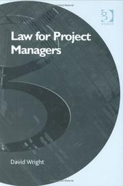 Cover of: Law For Project Managers