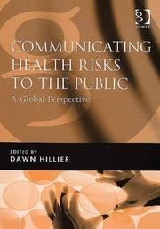 Cover of: Communicating Health Risks to the Public