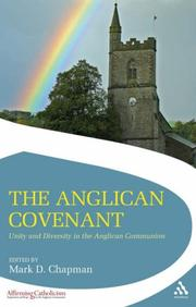 Cover of: Anglican Covenant | Mark Chapman