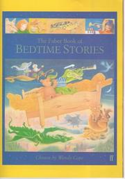 Cover of: The Faber Book of Bedtime Stories