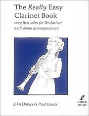 Cover of: Really Easy Clarinet Book | Various