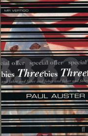 "Cover of: Threebies: Paul Auster (Faber ""Threebies"")"