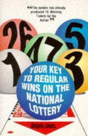 Cover of: Your Key to Regular Wins on the National Lottery