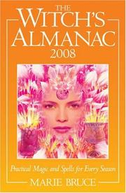 Cover of: The Witch's Almanac 2008 | Marie Bruce