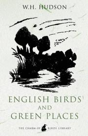 Cover of: English Birds and Green Places