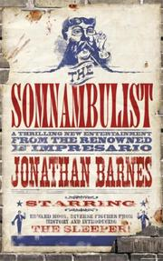 Cover of: The Somnambulist (Gollancz) | Jonathan Barnes