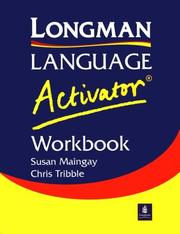Cover of: Longman Language Activator Workbook (LLA)