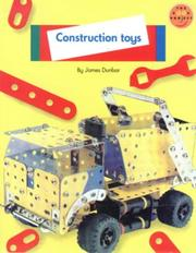 Cover of: Construction Toys
