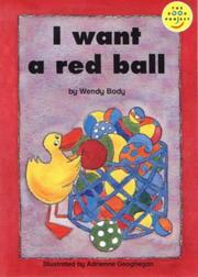 Cover of: I Want a Red Ball