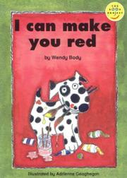 Cover of: I Can Make You Red
