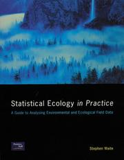 Cover of: Statistical ecology in practice