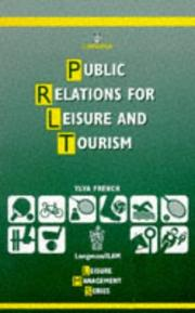 Cover of: Public Relations for Leisure and Tourism