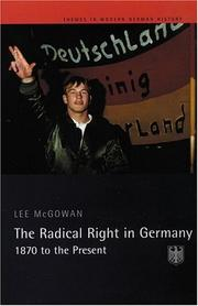 Cover of: The Radical Right in Germany