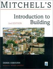 Cover of: Mitchells Introduction to Building (Mitchell's Building)