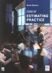 Cover of: Code of Estimating Practice (Chartered Institute of Building Professional Series)
