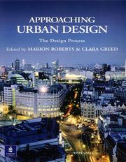 Approaching Urban Design (Introduction to Planning) by Marion Roberts, Clara Greed