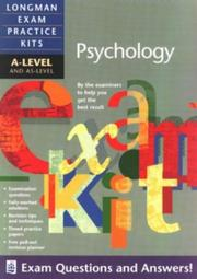 Cover of: A-level Psychology | Alison Wadeley