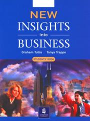 Cover of: Insights into Business (NIIB) | Michael Lannon, G Tullis, T Trappe