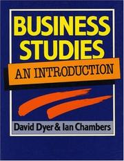 Cover of: Business Studies | David Dyer