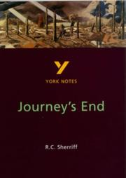 Cover of: York Notes on R.C.Sherriffs Journeys End | Marian Slee