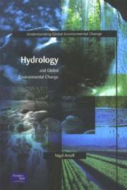 Cover of: Hydrology & Global Environmental Change