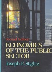 Cover of: Economics of the public sector