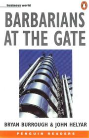 Cover of: Barbarians at the Gate (Penguin Joint Venture Readers) | Bryan Burrough