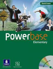 Cover of: Powerbase Elementary Coursebook and Audio CD Pack (POWH)