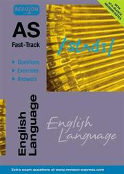 Cover of: English Language (AS Fast-track)