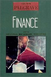 Cover of: Finance